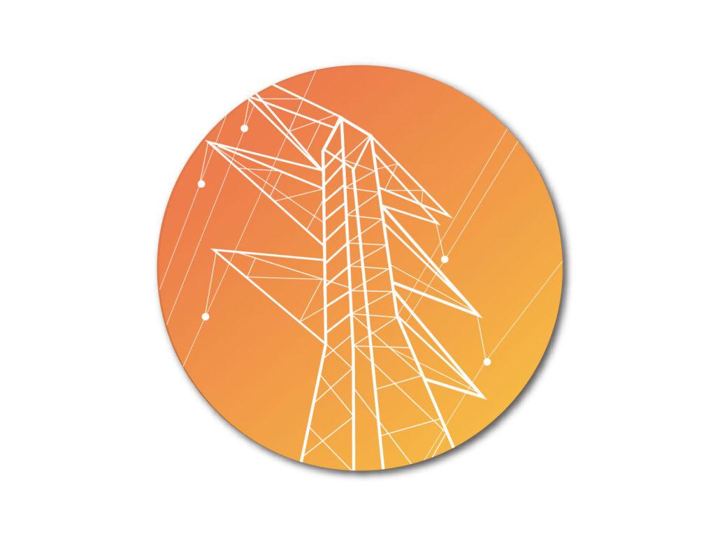 Transmission line icon