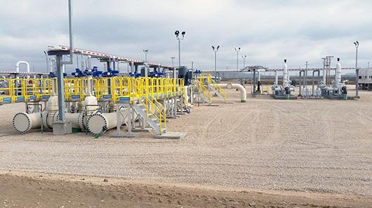 Oil pipeline system