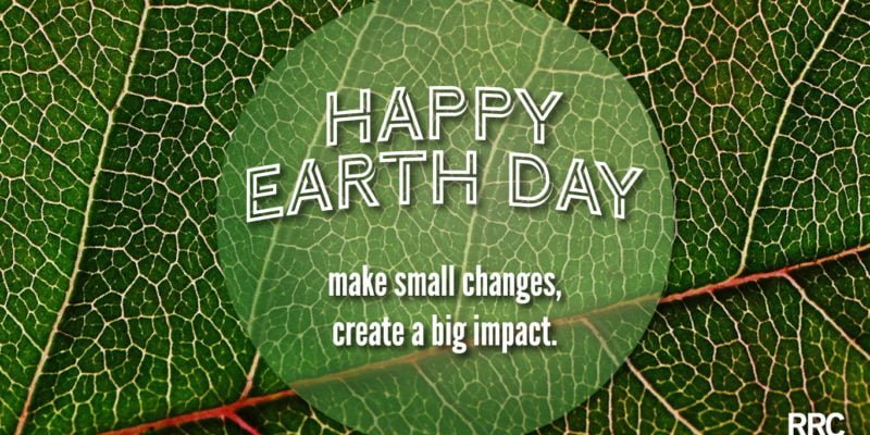 Earth Day celebration post