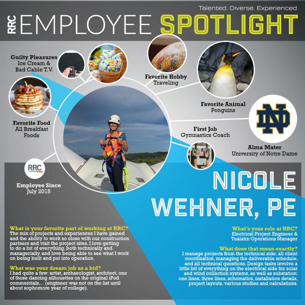 Spotlight on N.Wehner, RRC Employee