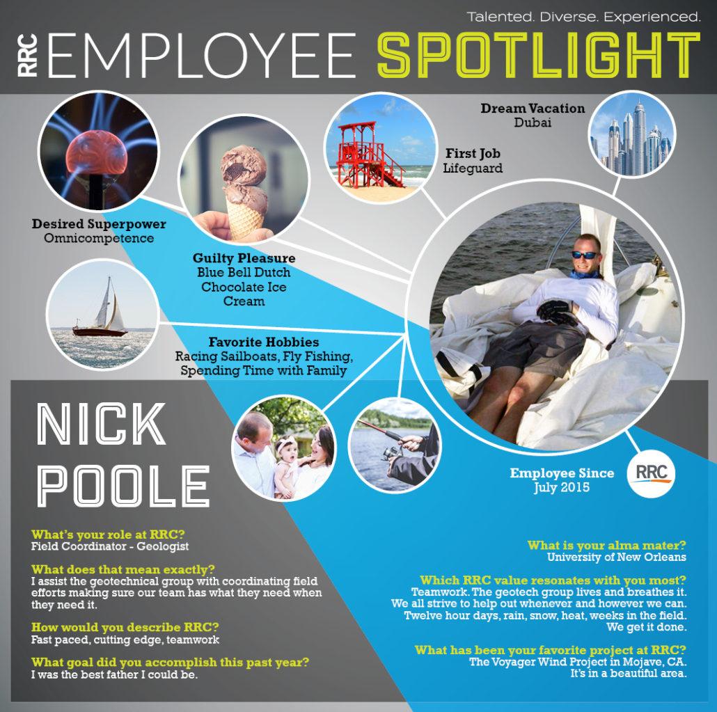 Spotlight on N.Poole, RRC Employee