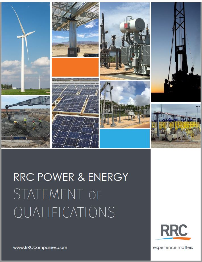 RRC Power & Energy brochure cover