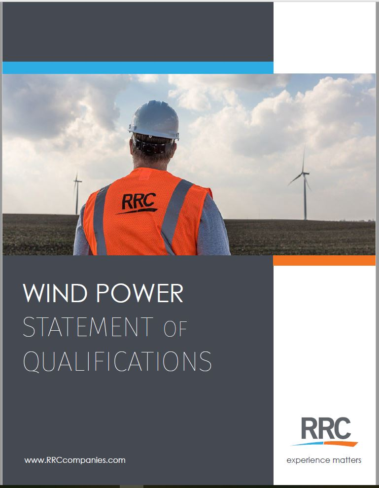 RRC Wind Power Brochure Cover